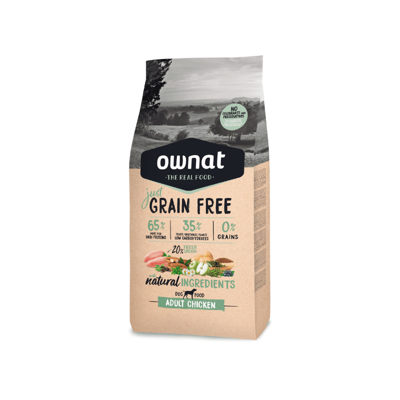 Ownat Dog Just Grain Free Frango