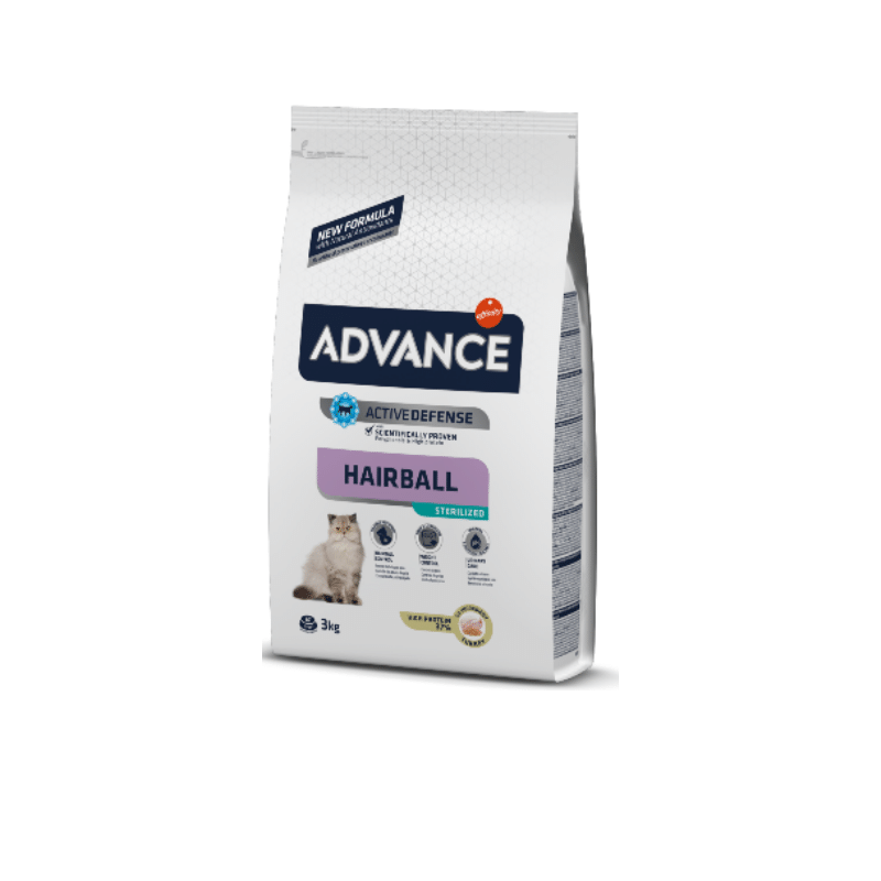 Advance Sterilized Hairball Turkey & Barley