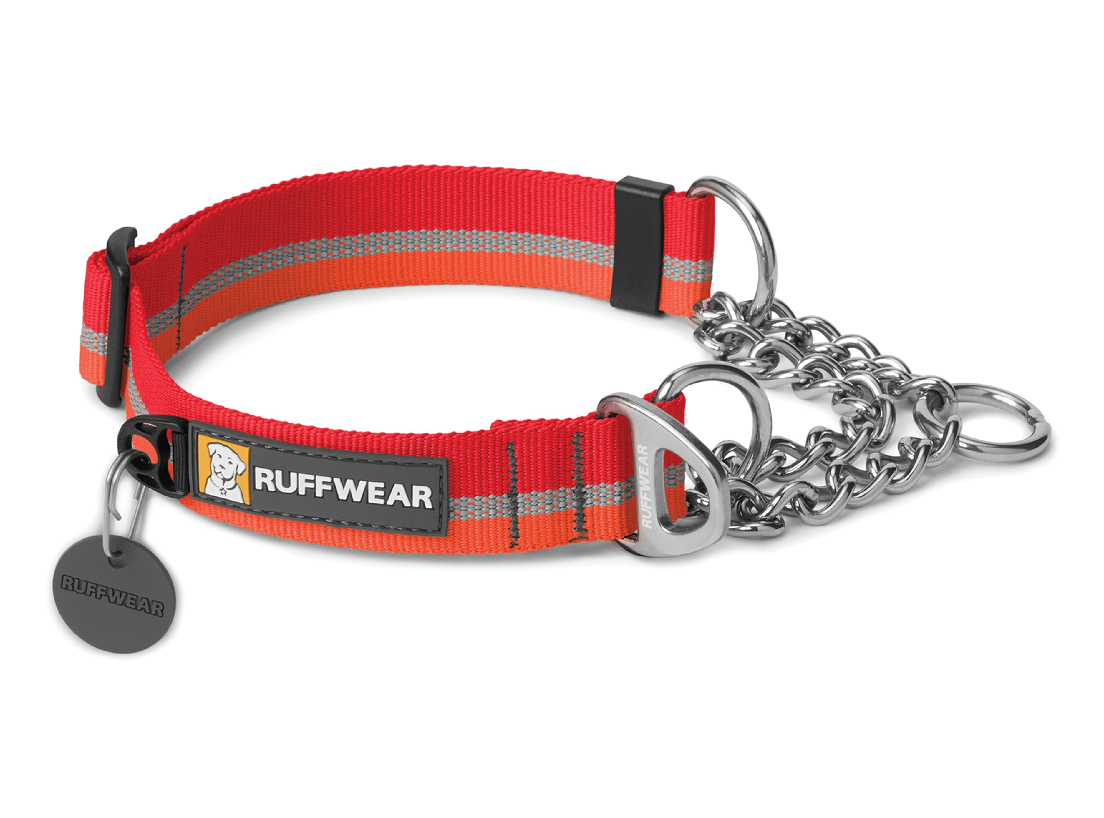 ruffwear- Chain Reaction Coleira Vermelha