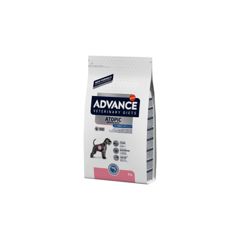 Advance Vet Medium-Maxi Atopic with Trout