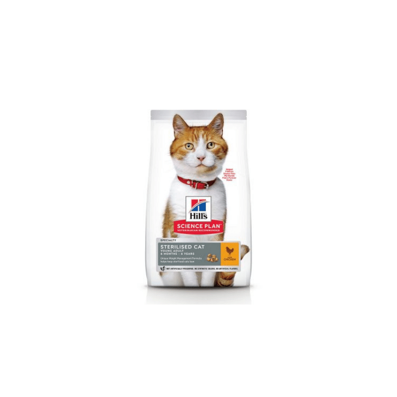 Hills Science Plan Sterilised Cat Young Adult Chicken