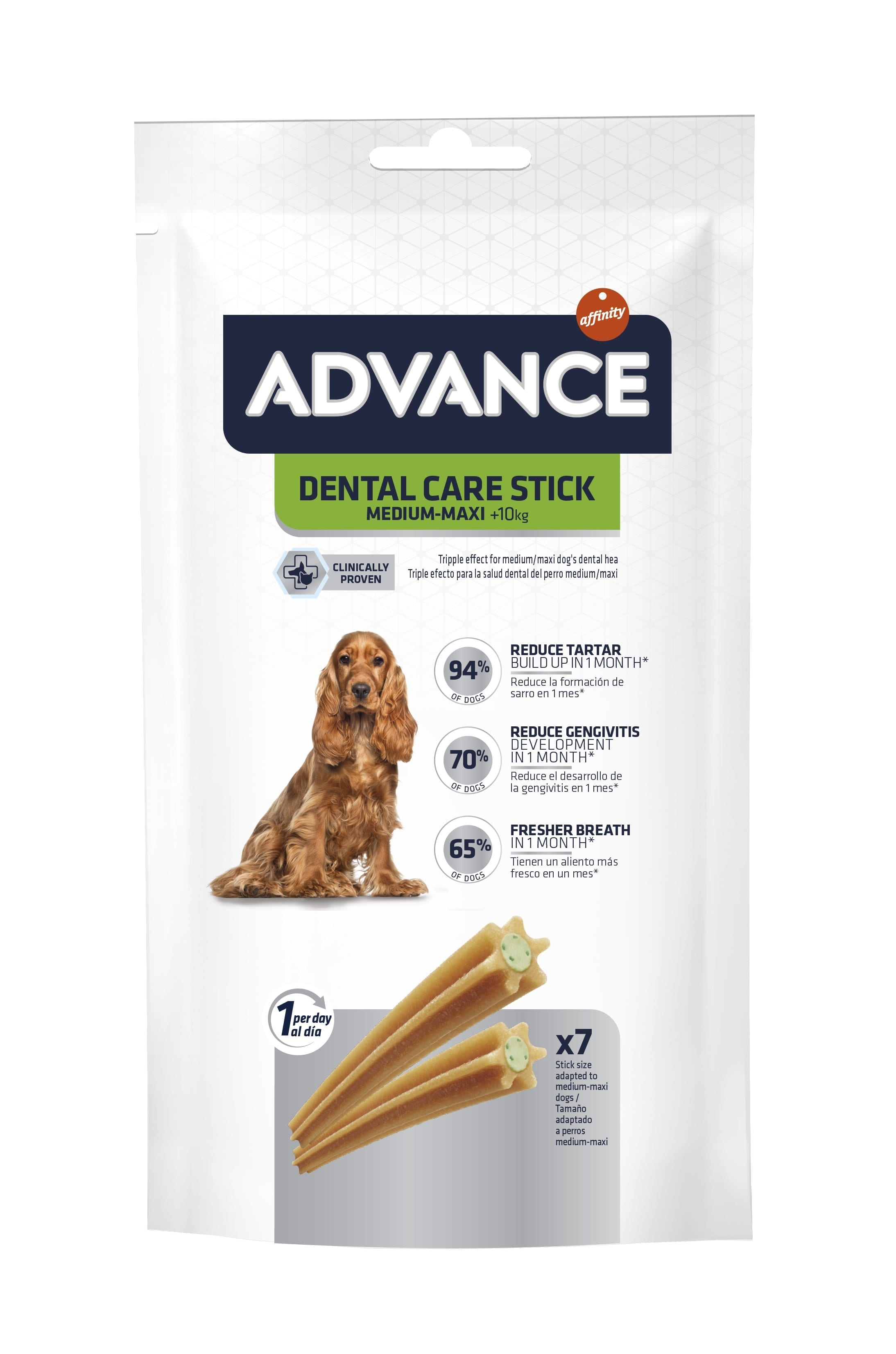 Snack para Cão Advance Dental Care Stick