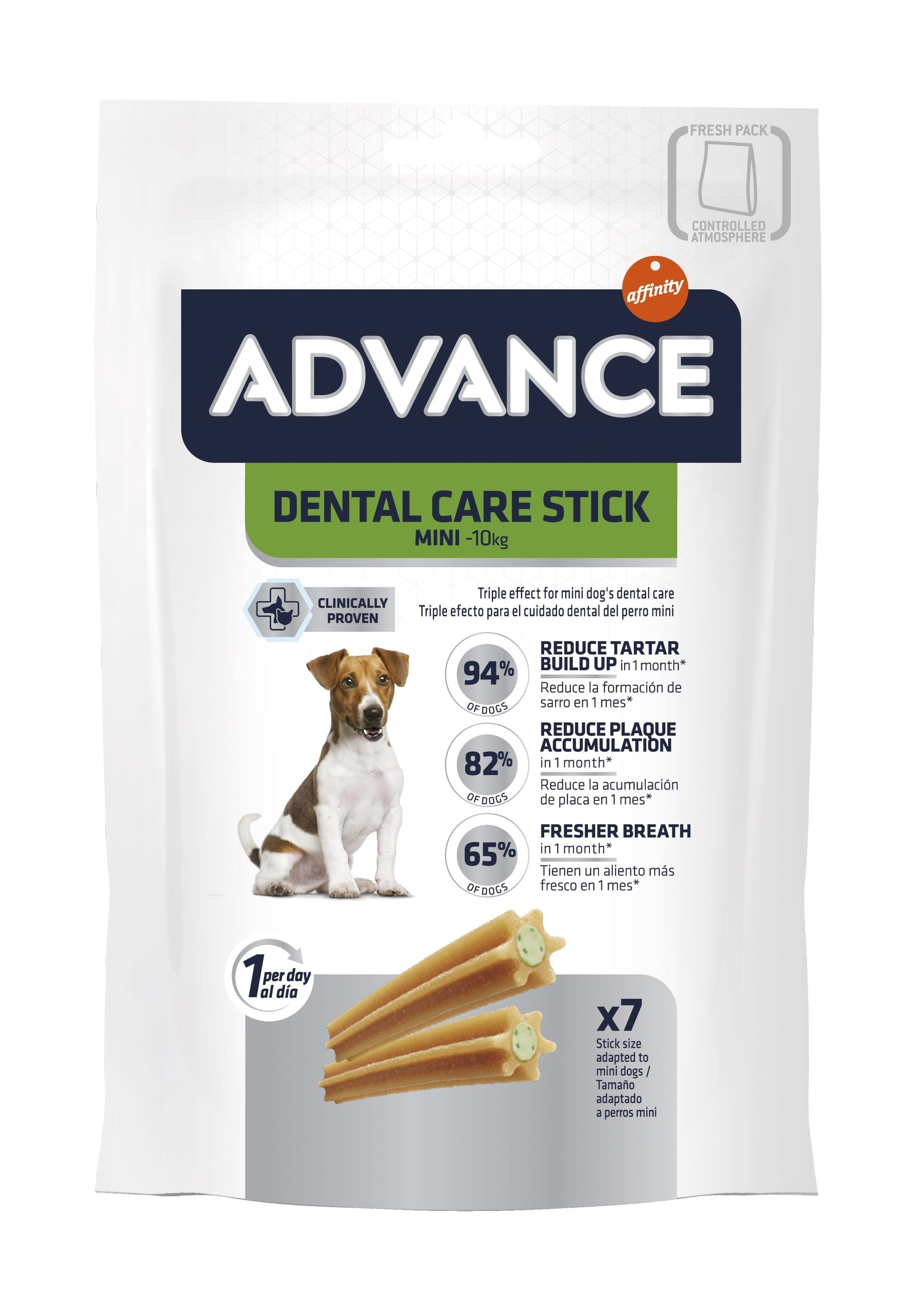 Snack para Cão Advance Mini Dental Care
