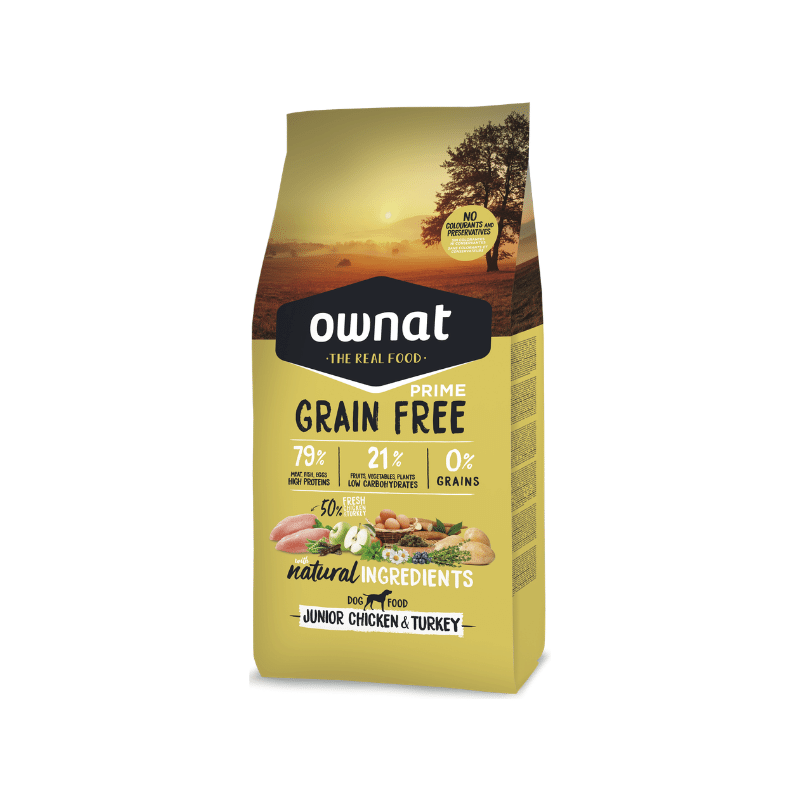 Ownat Grain Free Prime Junior Chicken & Turkey