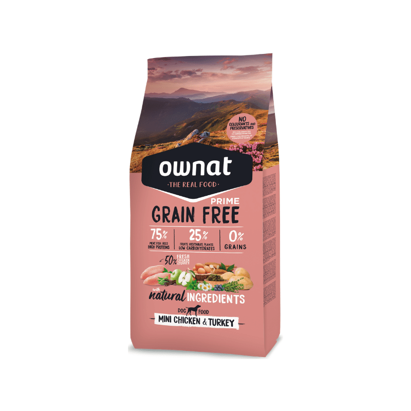 Ownat Grain Free Prime Mini Chicken
