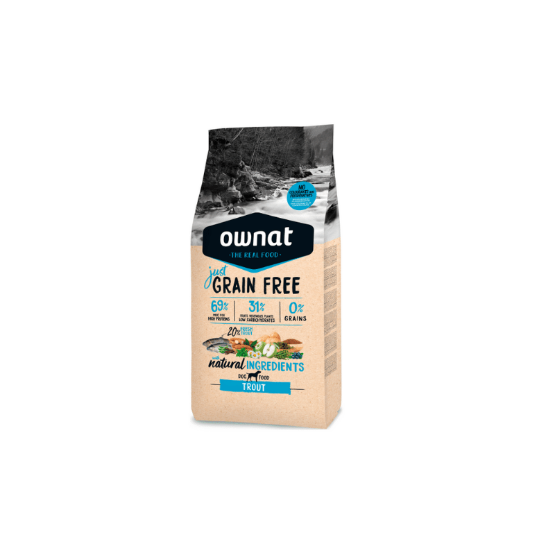 Ownat Dog Just Grain Free Trout